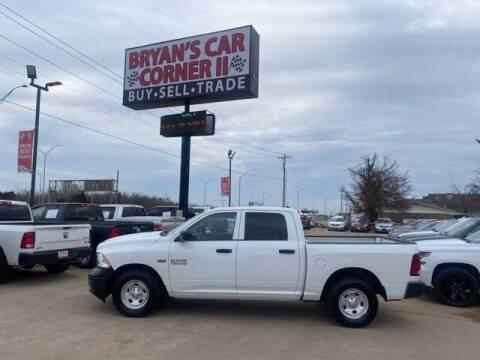 2016 RAM Ram Pickup 1500 for sale at Bryans Car Corner in Chickasha OK