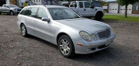 2004 Mercedes-Benz E-Class for sale at Village Car Company in Hinesburg VT