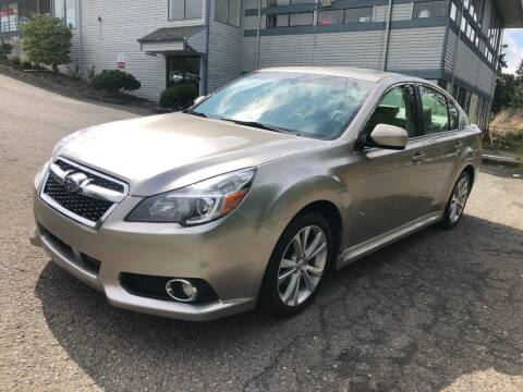 2014 Subaru Legacy for sale at KARMA AUTO SALES in Federal Way WA