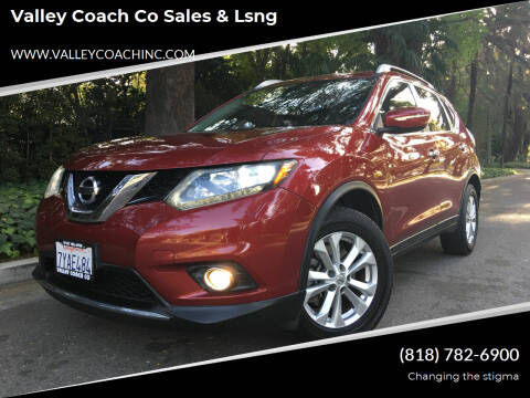 2015 Nissan Rogue for sale at Valley Coach Co Sales & Lsng in Van Nuys CA