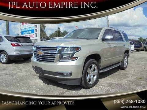 2015 Chevrolet Tahoe for sale at JPL AUTO EMPIRE INC. in Auburndale FL