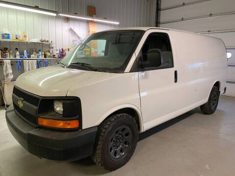 2013 Chevy G1500 ALL WHEEL DRIVE Cargo Van w Divider for sale at Albers Sales and Leasing, Inc in Bismarck ND