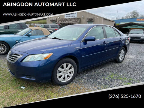 2009 Toyota Camry Hybrid for sale at ABINGDON AUTOMART LLC in Abingdon VA