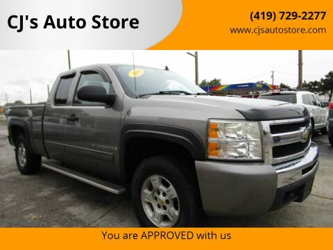 2009 Chevrolet Silverado 1500 for sale at CJ's Auto Store in Toledo OH
