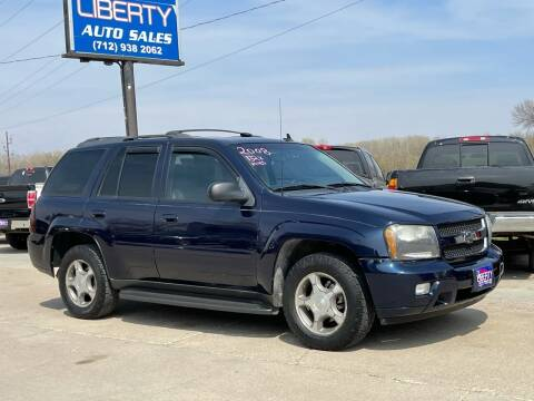 2008 Chevrolet TrailBlazer for sale at Liberty Auto Sales in Merrill IA