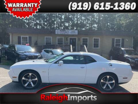 2014 Dodge Challenger for sale at Raleigh Imports in Raleigh NC