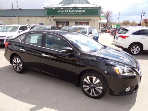 2018 Nissan Sentra for sale at Jim O'Connor Select Auto in Oconomowoc WI