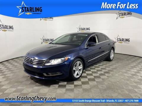 2015 Volkswagen CC for sale at Pedro @ Starling Chevrolet in Orlando FL