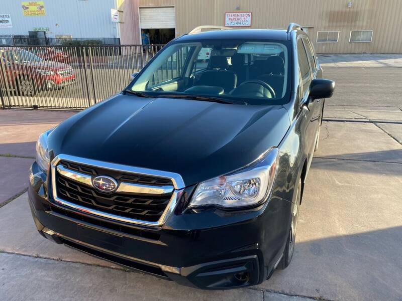 2018 Subaru Forester for sale at CONTRACT AUTOMOTIVE in Las Vegas NV