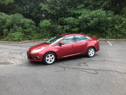 2013 Ford Focus for sale at Chris Auto South in Agawam MA