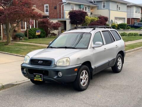 2002 Hyundai Santa Fe for sale at Reis Motors LLC in Lawrence NY