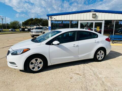 2016 Kia Forte for sale at Pioneer Auto in Ponca City OK