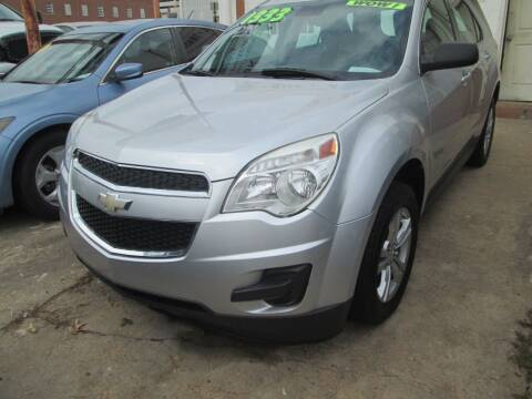 2012 Chevrolet Equinox for sale at Downtown Motors in Macon GA