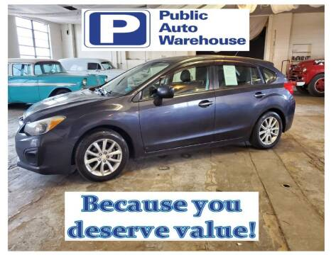 2012 Subaru Impreza for sale at Public Auto Warehouse in Pekin IL