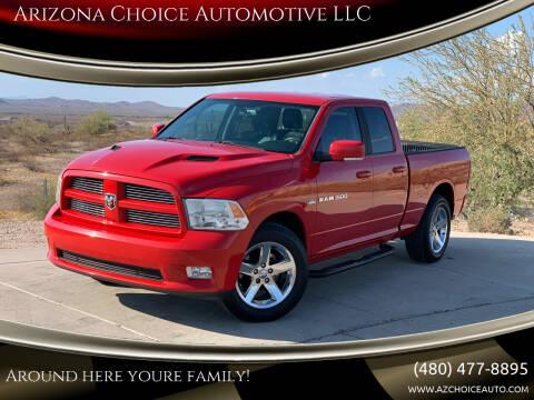 2012 RAM Ram Pickup 1500 for sale at Arizona Choice Automotive LLC in Mesa AZ