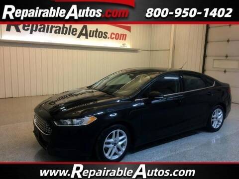 2016 Ford Fusion for sale at Ken's Auto in Strasburg ND