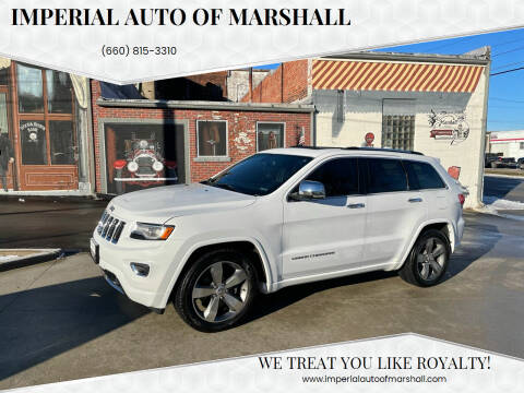 2015 Jeep Grand Cherokee for sale at Imperial Auto of Marshall - Imperial Auto Of Slater in Slater MO