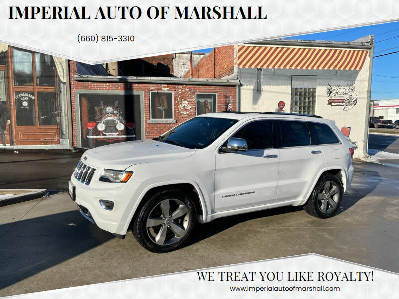 2015 Jeep Grand Cherokee for sale at Imperial Auto of Slater in Slater MO