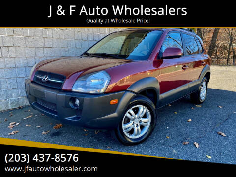 2006 Hyundai Tucson for sale at J & F Auto Wholesalers in Waterbury CT