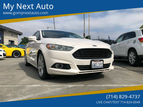 2013 Ford Fusion for sale at My Next Auto in Anaheim CA