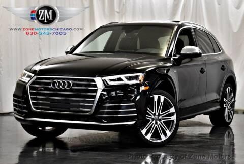 2018 Audi SQ5 for sale at ZONE MOTORS in Addison IL