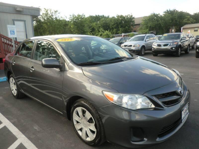 2012 Toyota Corolla for sale at Auto Solution in San Antonio TX