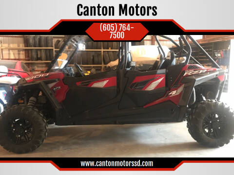 2016 Polaris RZR XP 4 900 for sale at Canton Motors in Canton SD