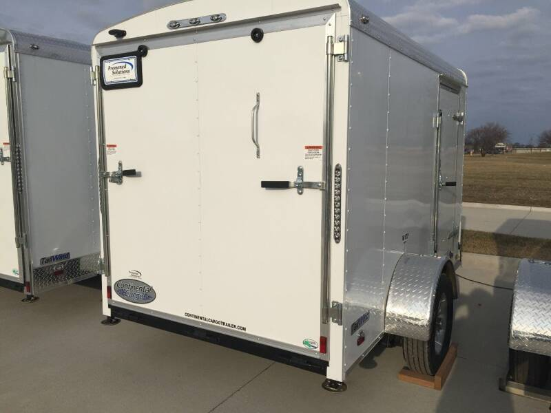 2020 Continental Cargo 6X10 Enclosed Trailer Tailwind Series - Urbandale IA
