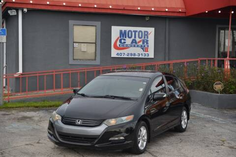 2010 Honda Insight for sale at Motor Car Concepts II - Kirkman Location in Orlando FL