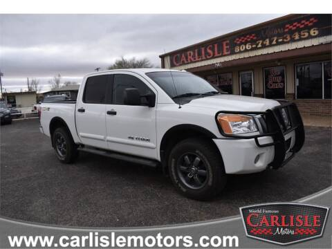 2013 Nissan Titan for sale at Carlisle Motors in Lubbock TX