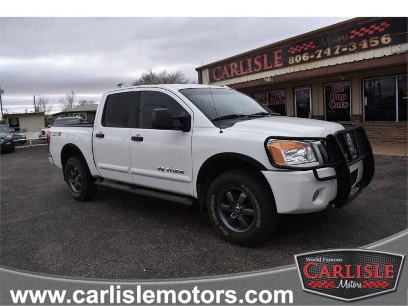 2013 Nissan Titan for sale at Carlisle Motors in Lubbock TX