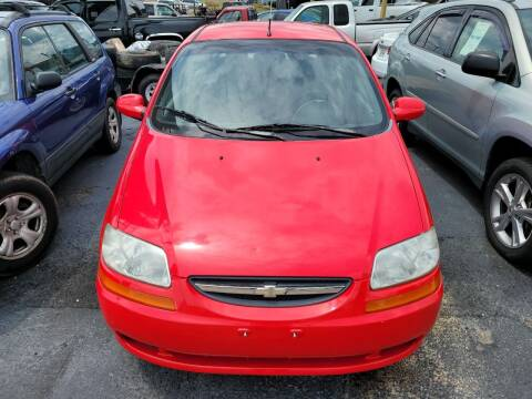 2004 Chevrolet Aveo for sale at All American Autos in Kingsport TN
