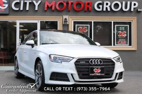 2017 Audi A3 for sale at City Motor Group, Inc. in Wanaque NJ