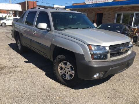 2004 Chevrolet Avalanche for sale at Payless Auto Sales LLC in Cleveland OH