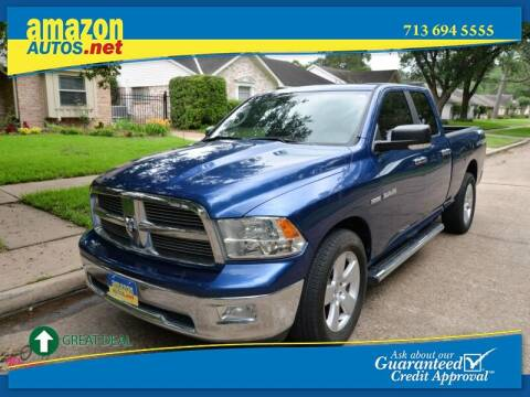 2010 Dodge Ram Pickup 1500 for sale at Amazon Autos in Houston TX
