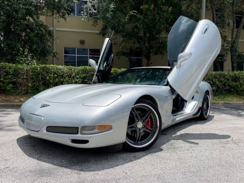 2002 Chevrolet Corvette for sale at CARPORT SALES AND  LEASING in Oviedo FL