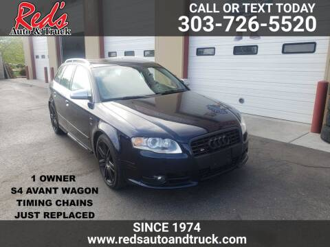 2007 Audi S4 for sale at Red's Auto and Truck in Longmont CO