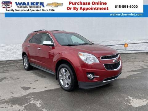 2015 Chevrolet Equinox for sale at WALKER CHEVROLET in Franklin TN