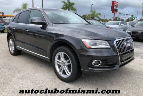 2016 Audi Q5 for sale at AUTO CLUB OF MIAMI in Miami FL