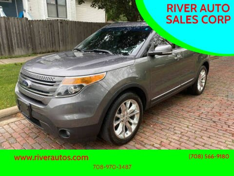 2013 Ford Explorer for sale at RIVER AUTO SALES CORP in Maywood IL