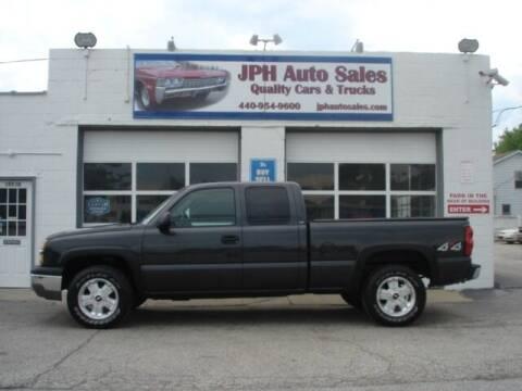 2004 Chevrolet Silverado 1500 for sale at JPH Auto Sales in Eastlake OH