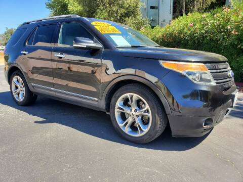 2014 Ford Explorer for sale at ALL CREDIT AUTO SALES in San Jose CA