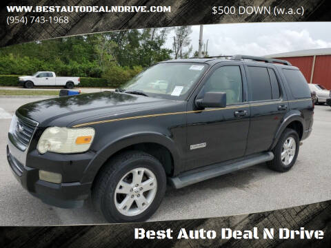 2007 Ford Explorer for sale at Best Auto Deal N Drive in Hollywood FL