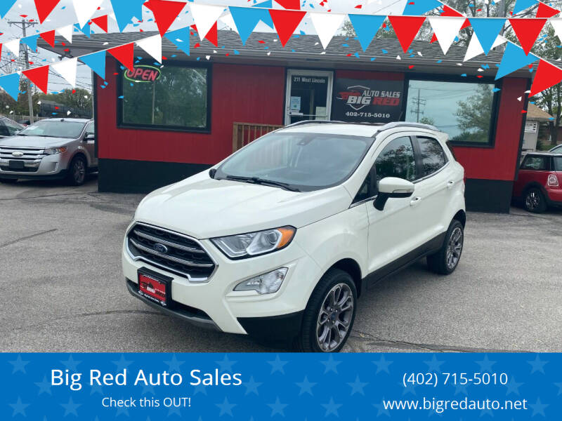 2020 Ford EcoSport for sale at Big Red Auto Sales in Papillion NE