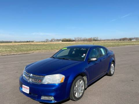 2013 Dodge Avenger for sale at De Anda Auto Sales in South Sioux City NE