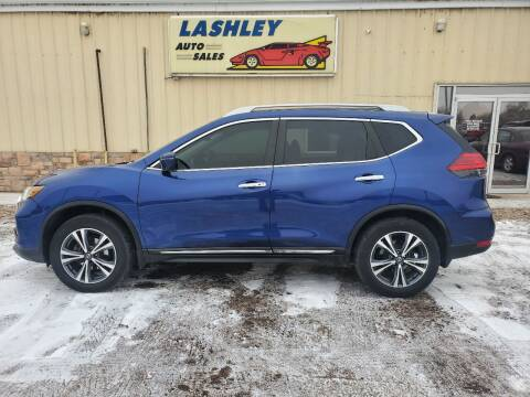2017 Nissan Rogue for sale at Lashley Auto Sales in Mitchell NE