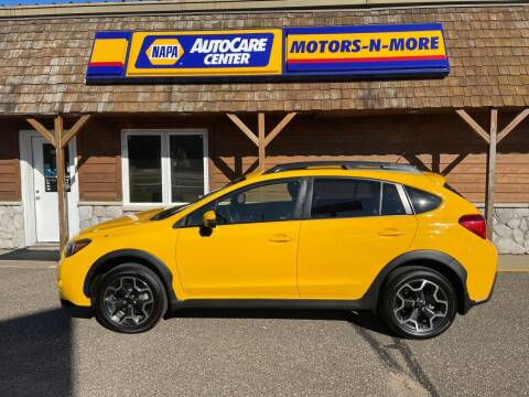 2015 Subaru XV Crosstrek for sale at MOTORS N MORE in Brainerd MN