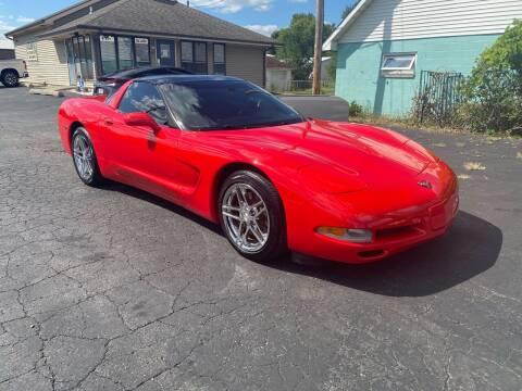 1998 Chevrolet Corvette for sale at MARK CRIST MOTORSPORTS in Angola IN
