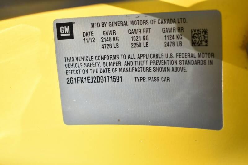 2013 Chevrolet Camaro SS 2dr Coupe w/2SS - Miami FL