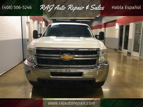 2013 Chevrolet Silverado 2500HD for sale at RAJ Auto Repair & Sales in San Jose CA